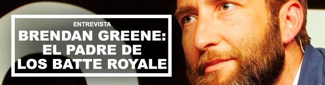 Entrevista Brendan Greene: El padre de los batte royale