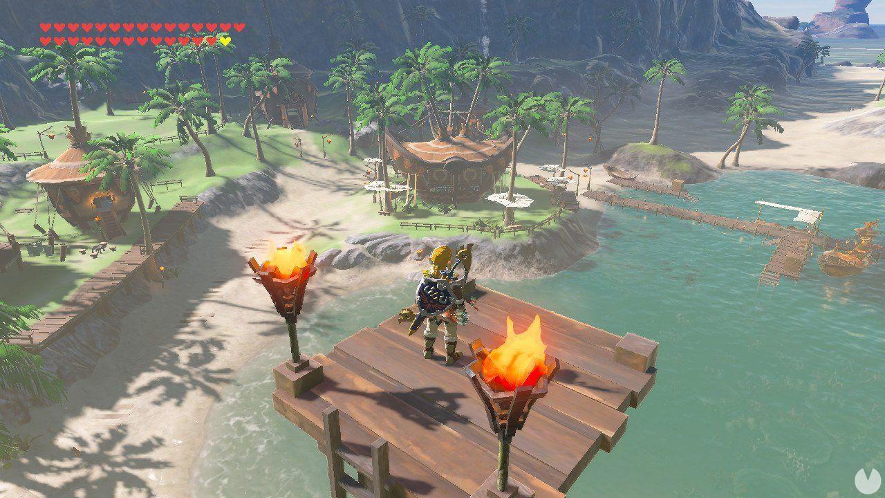 The Island Initia of Wind Waker is in The Legend of Zelda: Breath of the Wild