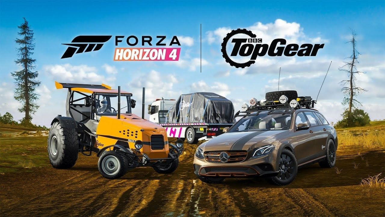 Forza Horizon 4 sum contents of Top-Gear