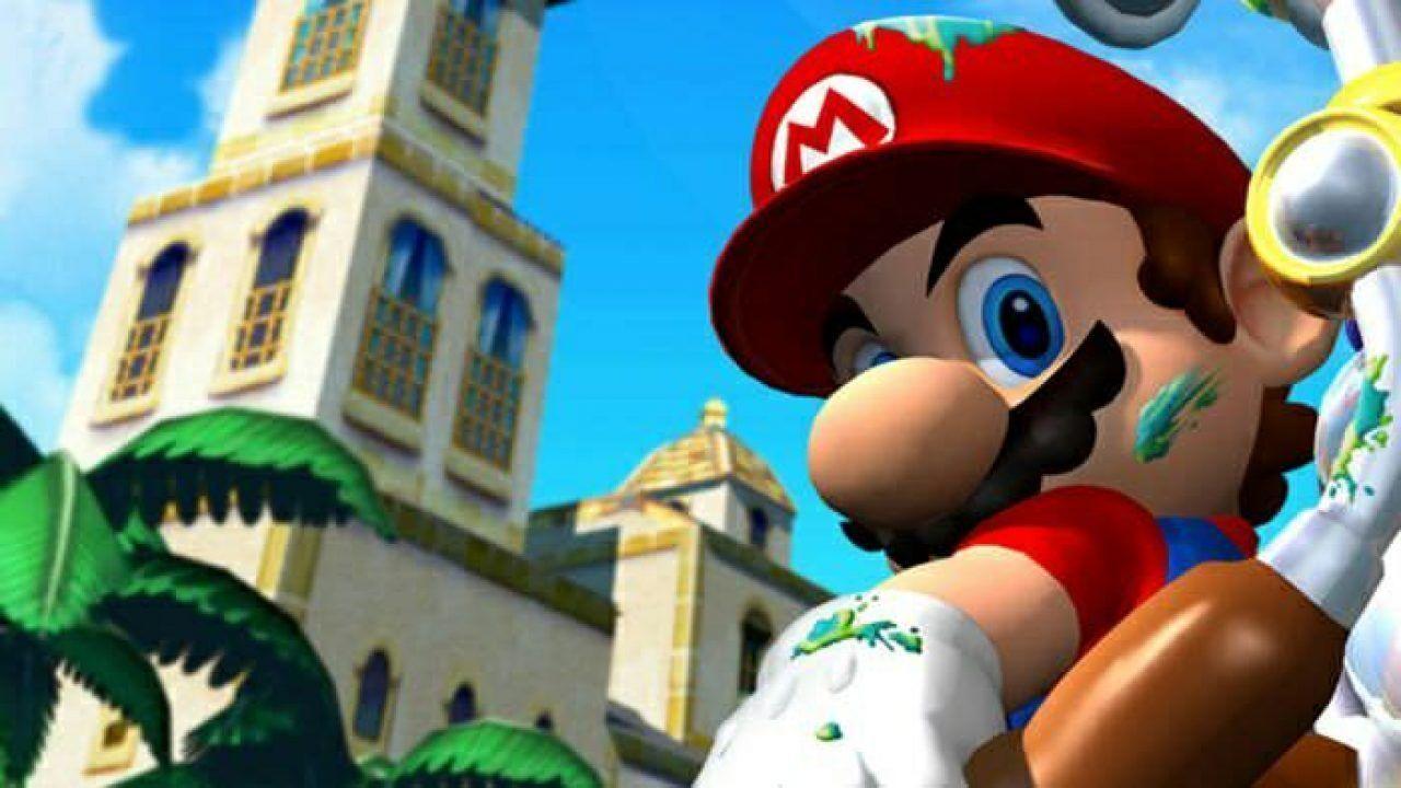 Super Mario Sunshine-classique de la nintendo GameCube, se réunit aujourd'hui, à 18