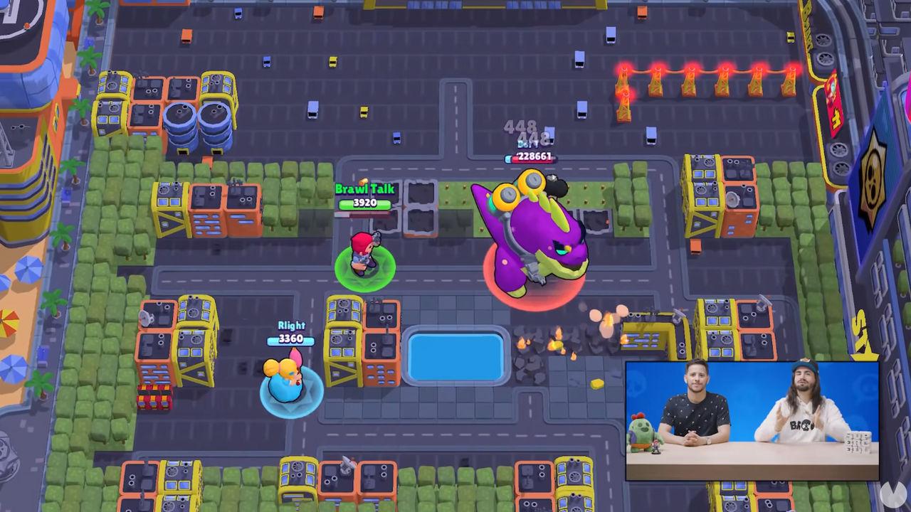 Brawl Stars - Nuevo modo de juego PvE: Irrupción urbana