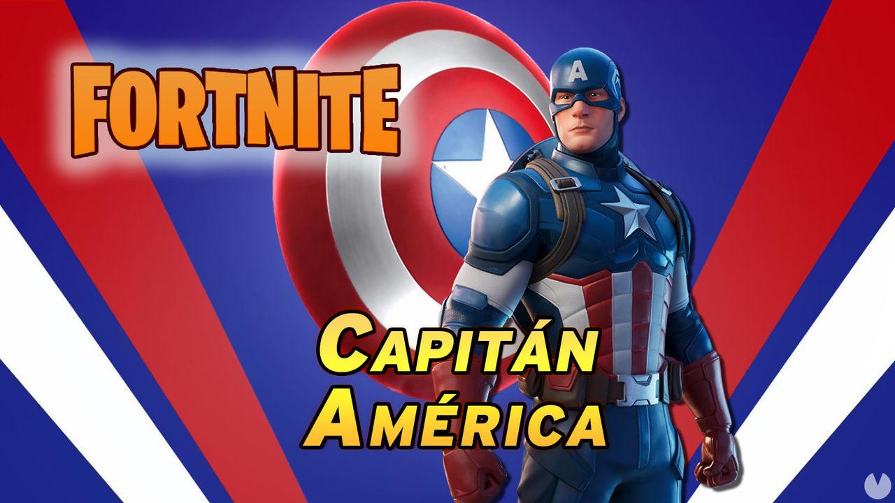 Fortnite: Ya está disponible el Capitán América, ¿cómo conseguir su skin?