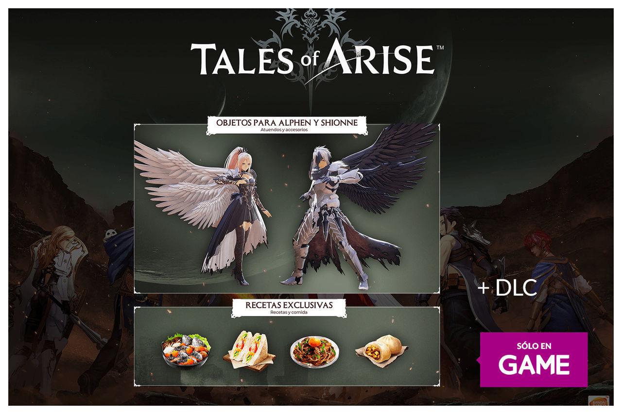 GAME España presenta los incentivos por la reserva de Tales of Arise