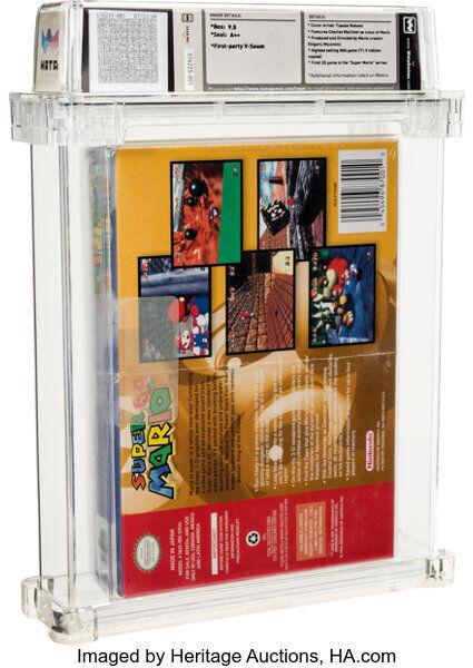 Super Mario 64 subastado por 1,5 millones de dólares