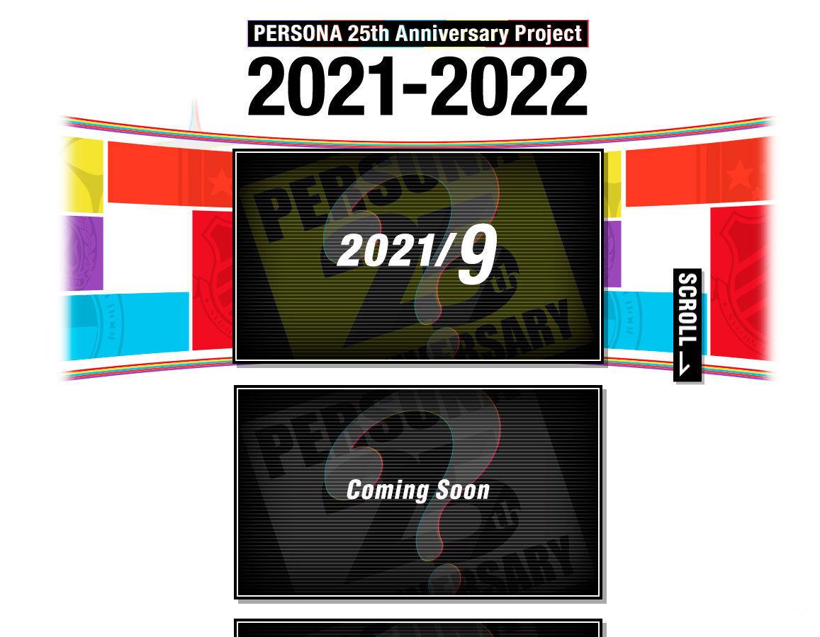 Persona aniversario anuncios en 2021 y 2022.