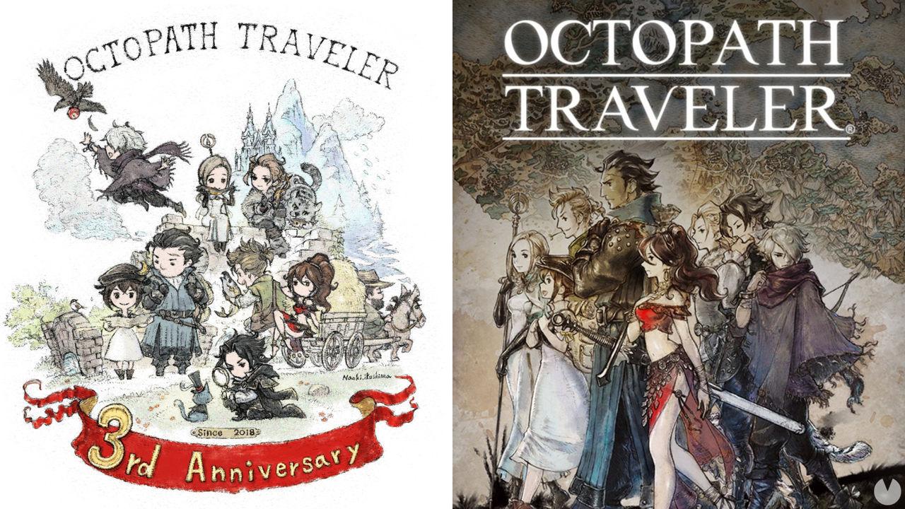 Square Enix anticipa una secuela de Octopath Traveler en su tercer aniversario