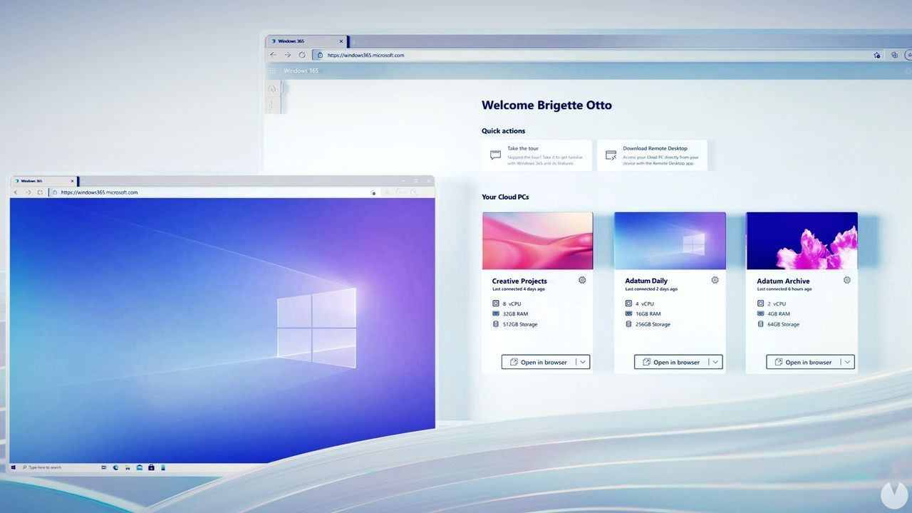 Windows 365, el servicio en la nube para utilizar Windows 10 y 11 en iOS, Android o MAC