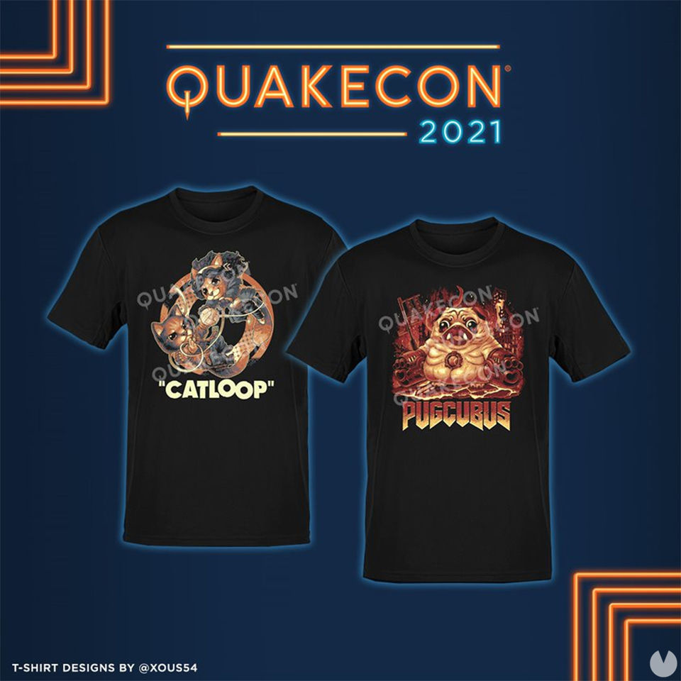 QuakeCon camisetas solidarias