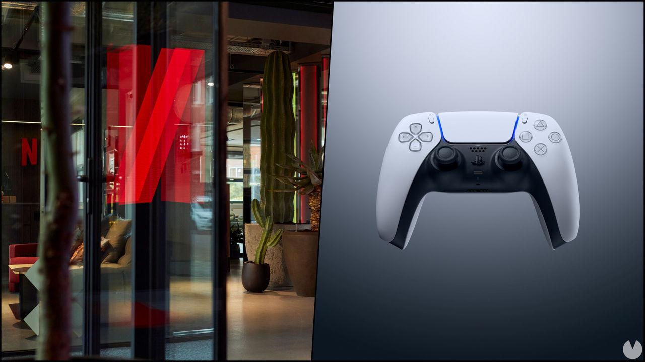 La app de Netflix esconde una imagen del mando de PS5 y otra de Ghost of Tsushima