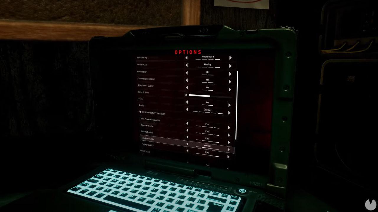 Back 4 Blood ajustes gráficos