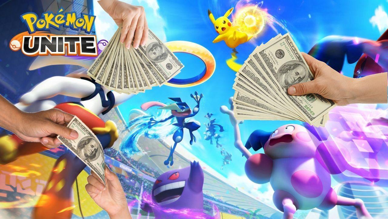 El MOBA Pokémon Unite tiene muchos, muchos micropagos