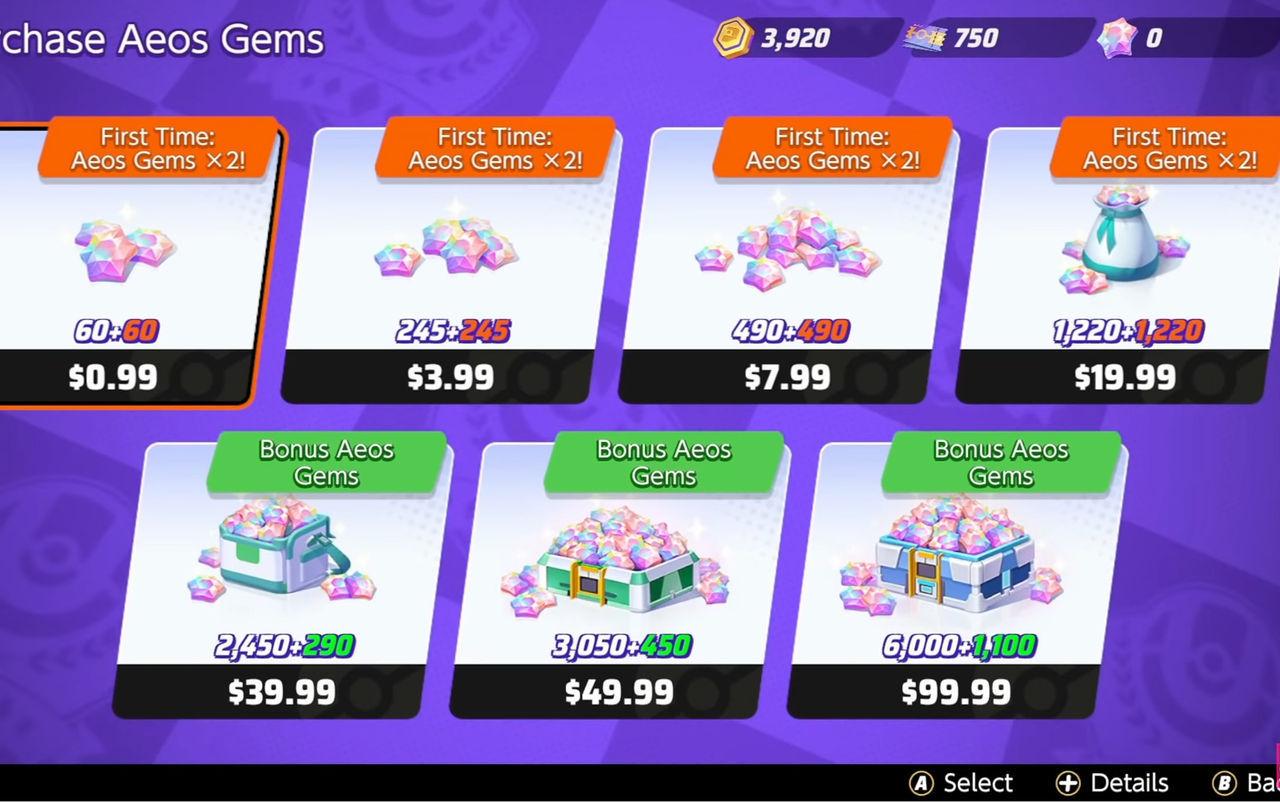 Monedas Premium en Pokémon Unite