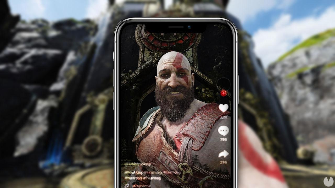 God of War es el videojuego más popular de TikTok, según un estudio