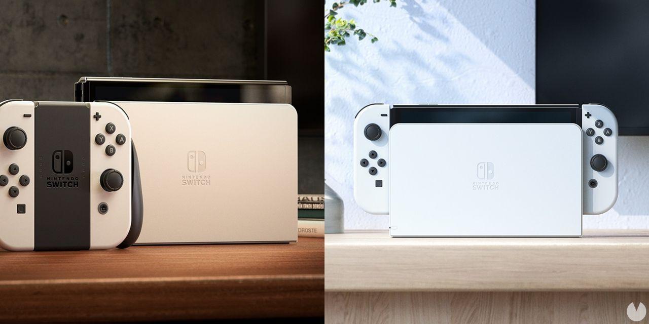 Nintendo Switch modelo OLED base