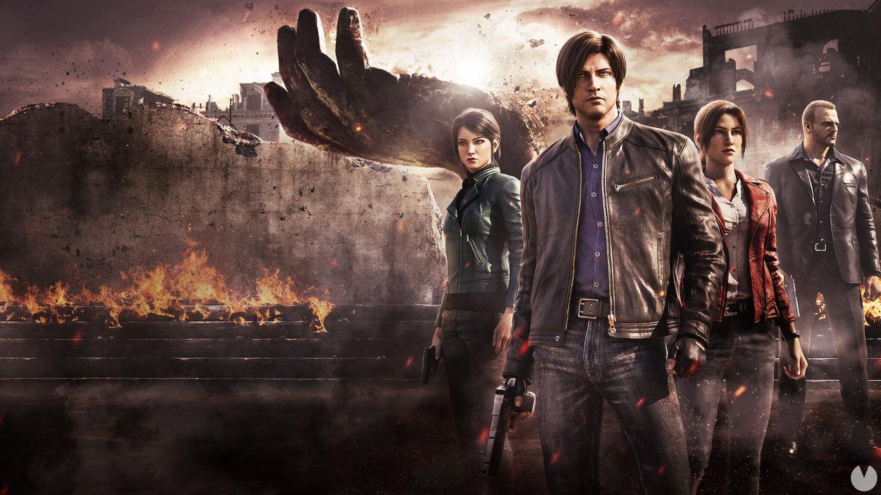 Resident Evil Oscuridad Infinita disponible en Netflix