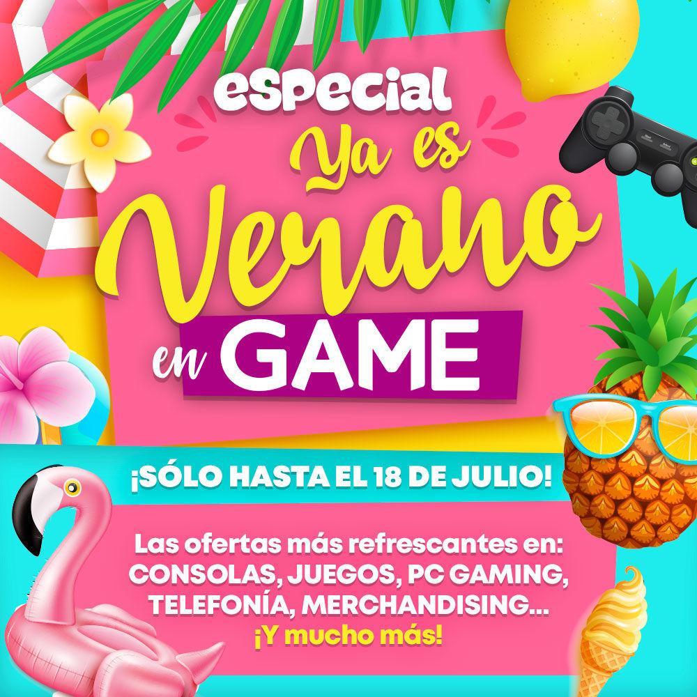 GAME España inicia las ofertas 'Ya es verano' con descuentos en juegos, consolas y mucho más