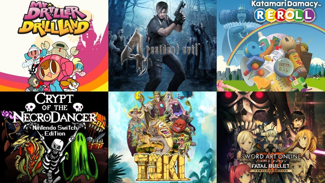 Ofertas digitales de Nintendo Switch: Resident Evil 4, Mr. Driller, Katamari Damacy...