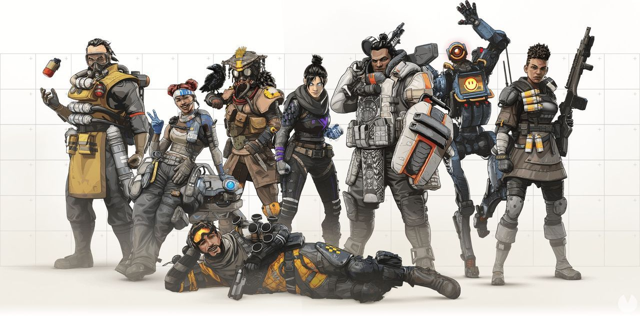 Apex Legends introduces the mode Duos and a field of practices