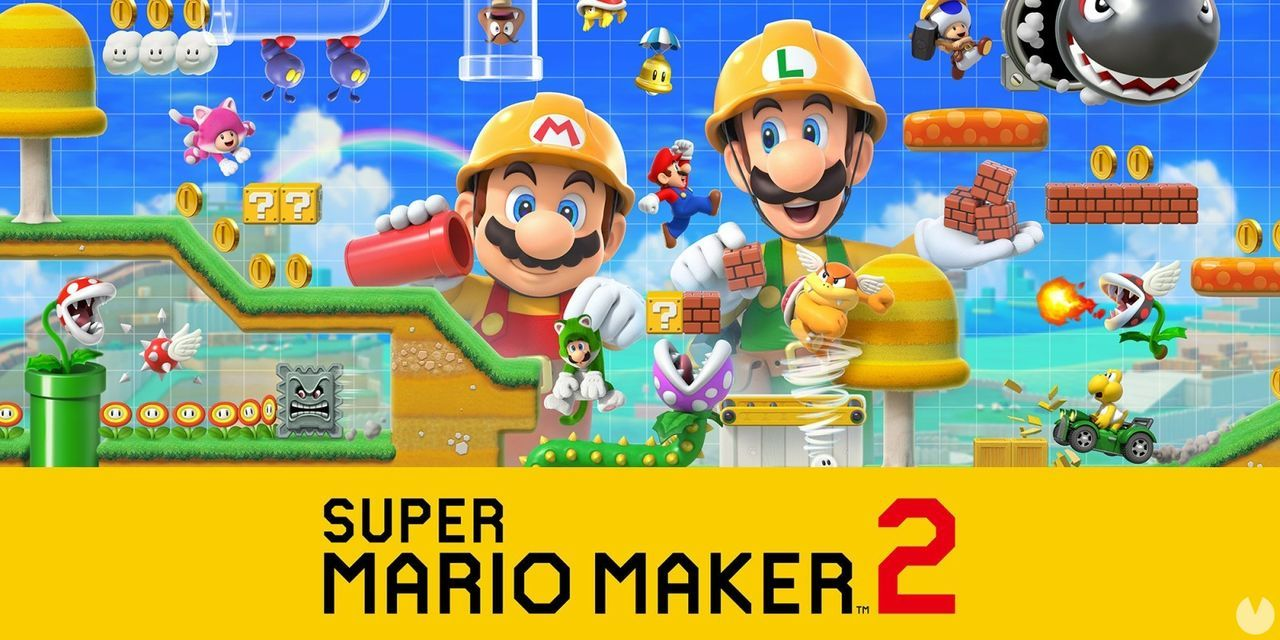 Super Mario Maker 2 is again the best-selling game of the week in Japan