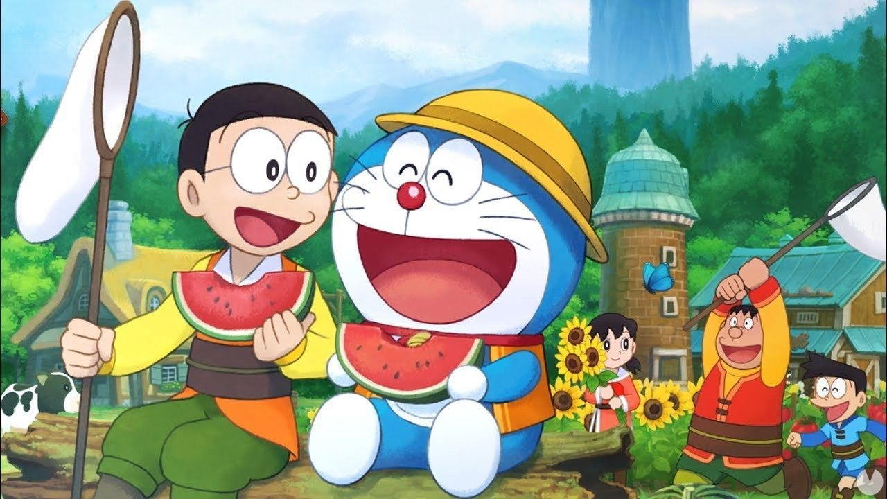Doraemon Story of Seasons shows the interaction between characters with a new trailer