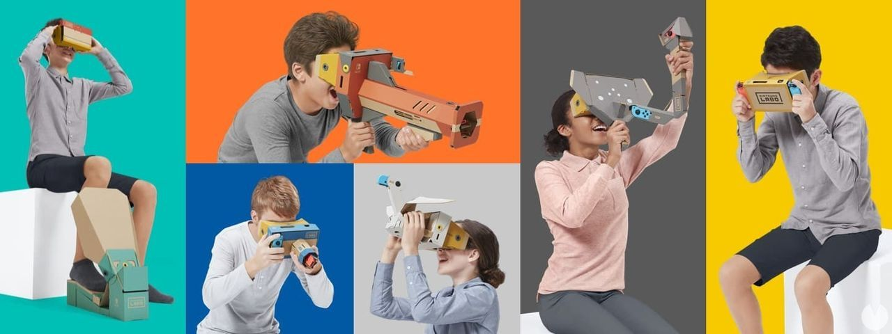 The virtual reality of Nintendo Labo is presented in this extensive trailer
