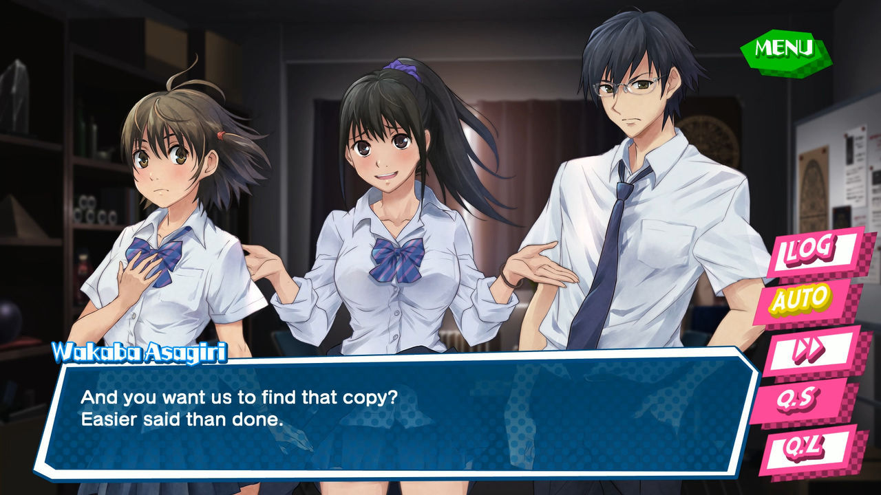 The visual novel Kotodama: The 7 Mysteries of Fujisawa is now available