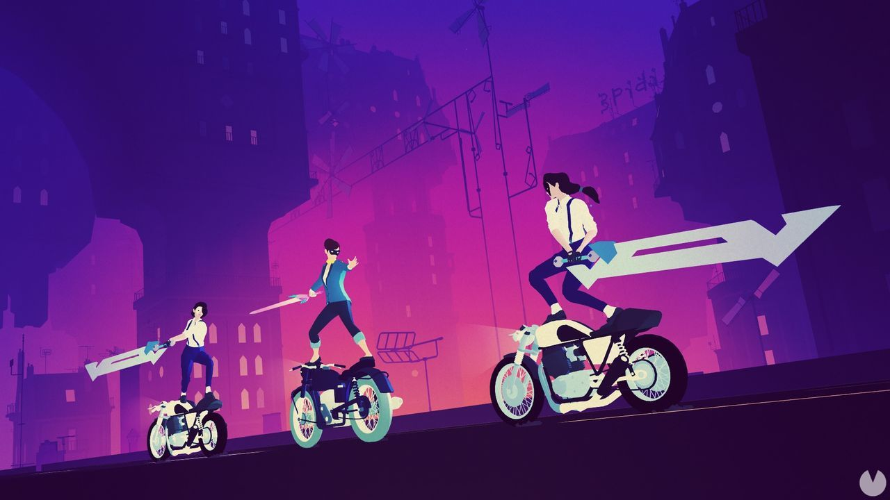 Sayonara Wild Hearts is released the 19 of September in Switch, PS4 and Apple Arcade