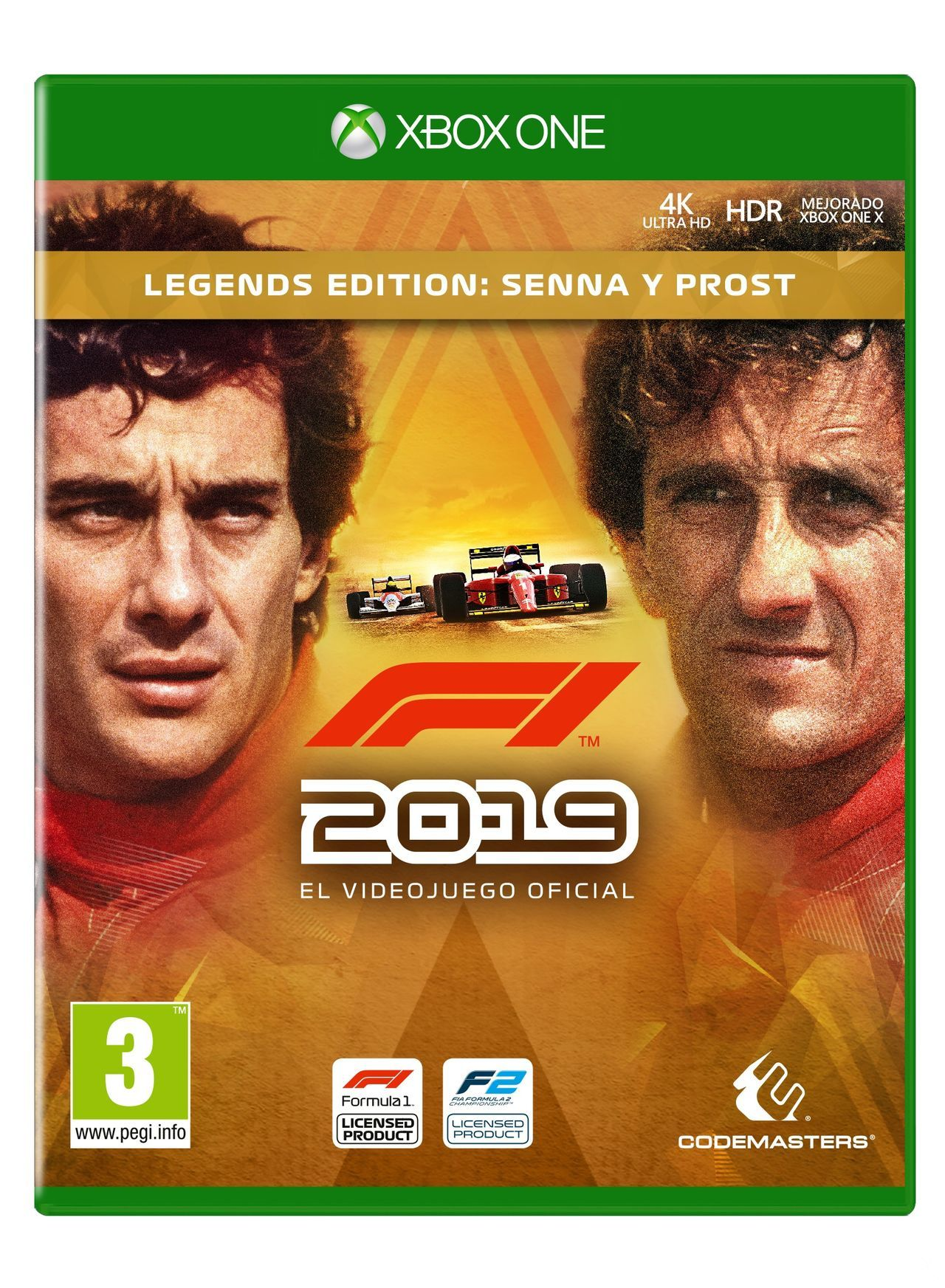 F1 2019 shows the covers of its various editions and premieres trailer