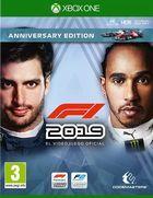Carátula F1 2019 para Xbox One