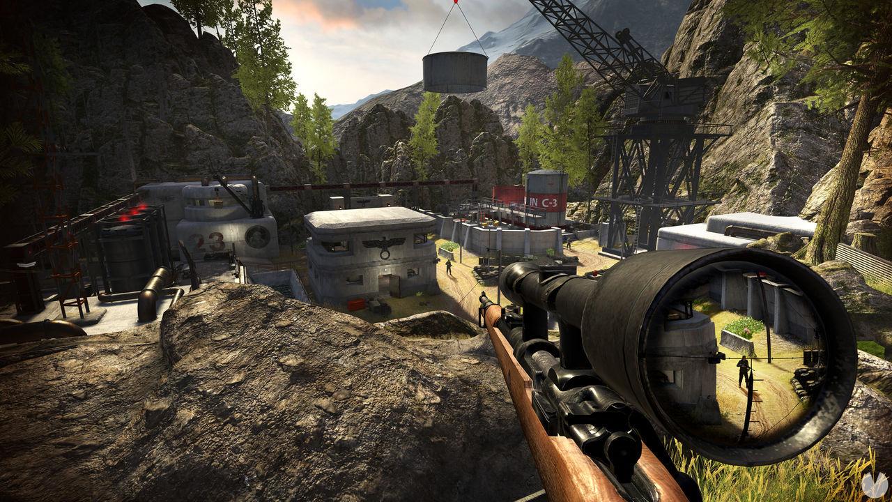 Sniper Elite VR para PC y PS4 se muestra en vídeo por primera vez