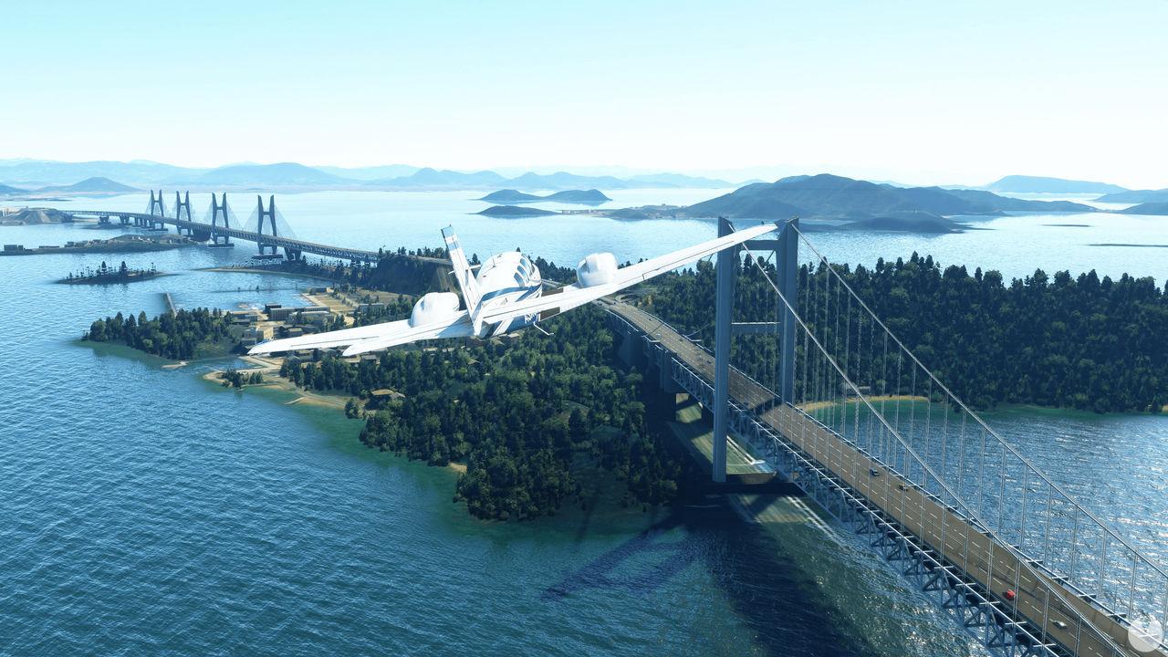 Microsoft Flight Simulator actualización tamaño