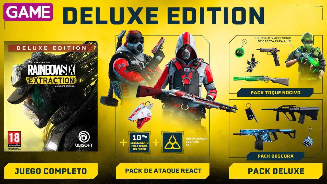 Deluxe Edition de Rainbow Six Extraction en GAME