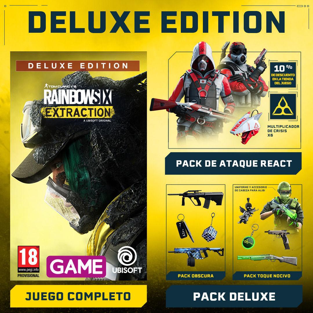 GAME detalla el contenido de la exclusiva Guardian Edition de Rainbow Six Extraction