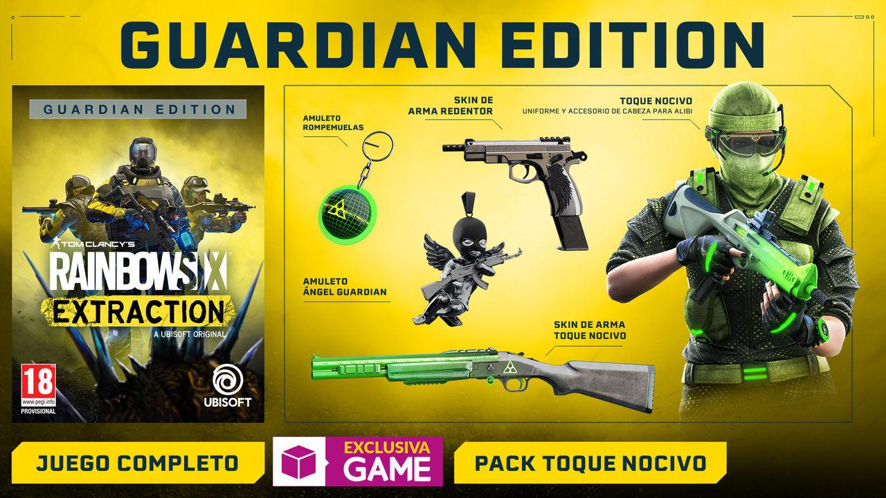 Edición Guardian Edition de Rainbow Six Extraction