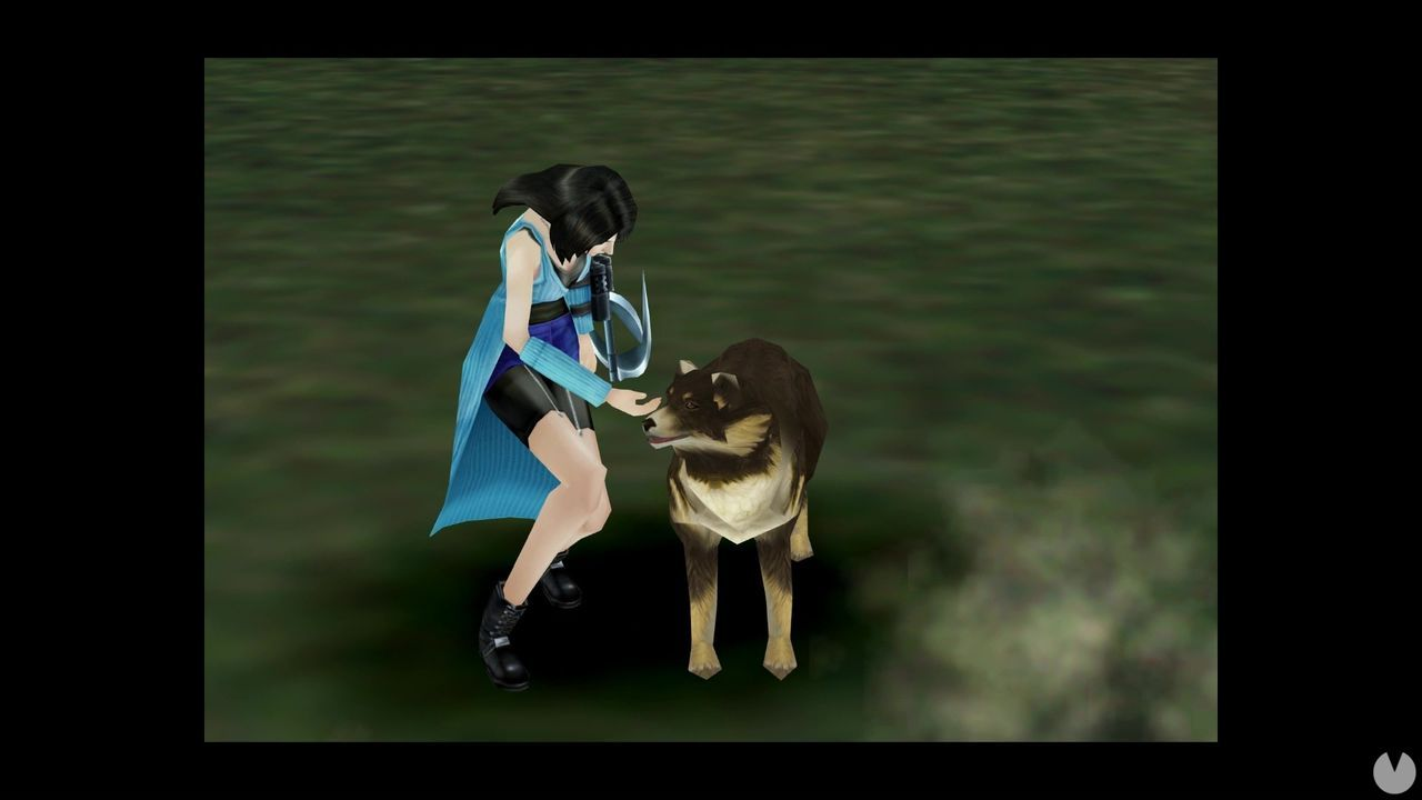Final Fantasy VIII Remastered shows to Angeal, the mascot of Rinoa
