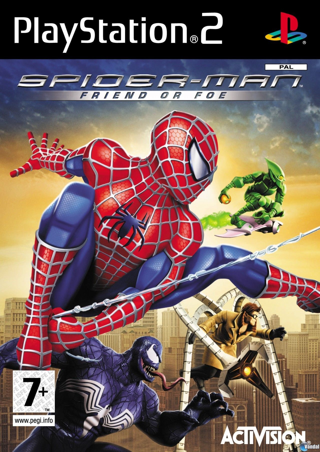 Trucos spiderman friend or foe ps2 claves gu as - Jeux de spiderman 7 ...