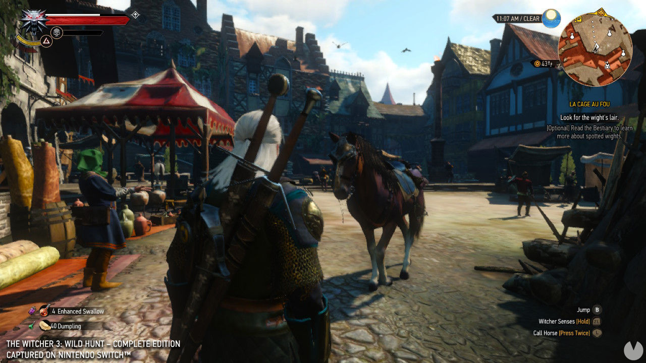 The Witcher 3 for the Nintendo Switch debuts a trailer specific to Japan
