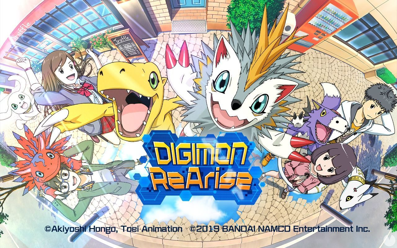 Bandai Namco announces Digimon ReArise for the western markets