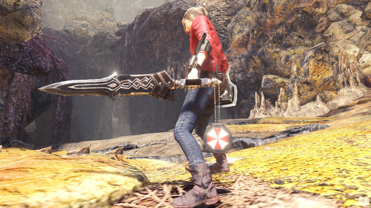 Monster Hunter World: Iceborne boots morning their collaboration with Resident Evil