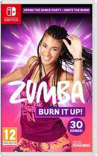 Carátula Zumba Burn It Up! para Nintendo Switch
