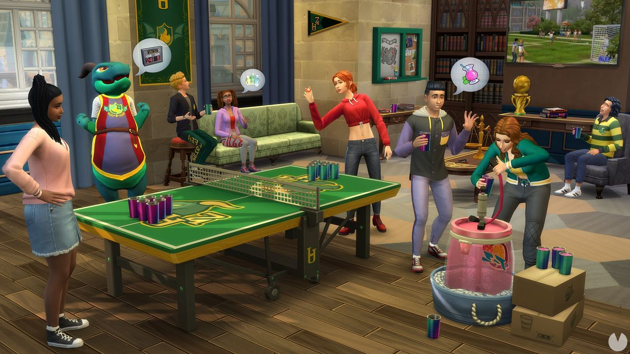 EA and Maxis presents The Sims 4: College Days, the new expansion for the game