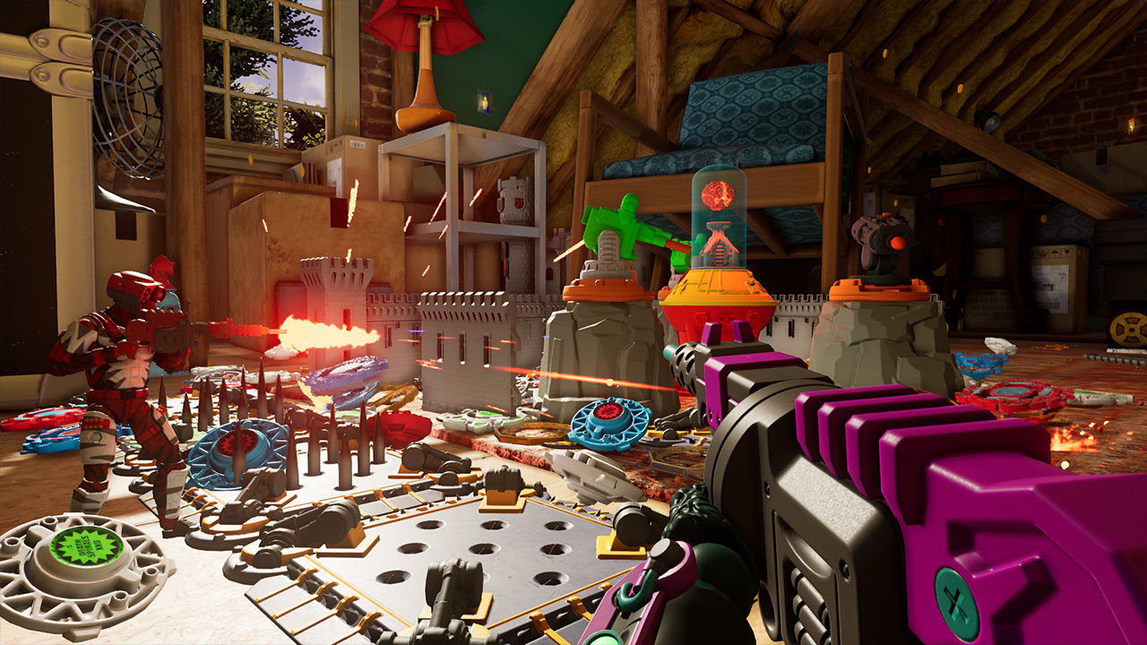 HYPERCHARGE: Unboxed is now on Nintendo Switch and premieres launch trailer