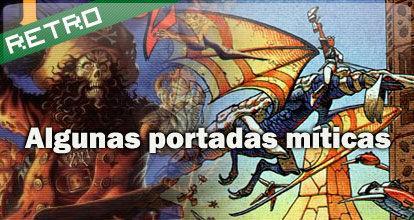 Algunas portadas míticas