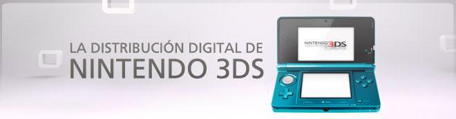 La distribución digital de Nintendo 3DS