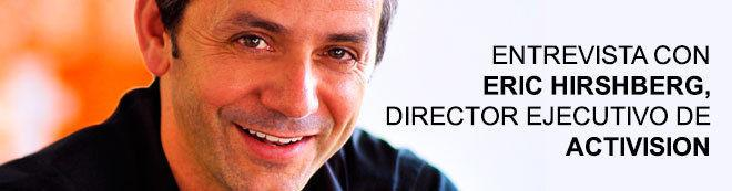 Eric Hirshberg, director ejecutivo de Activision