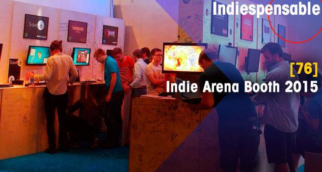 Indie Arena Booth 2015