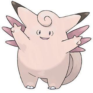 Clefable Pokémon GO