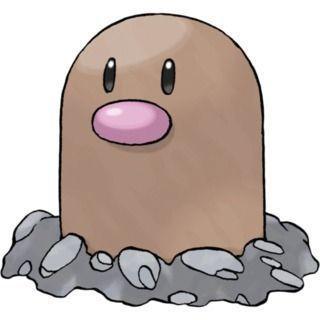 Diglett Pokémon GO