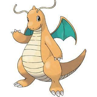Dragonite Pokémon GO