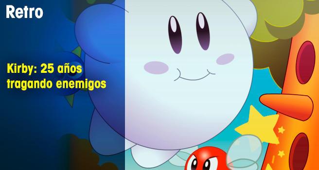 Kirby: 25 años tragando enemigos